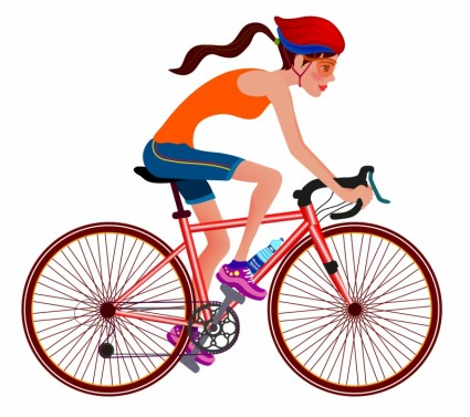 Biking clipart. Free cycling cliparts download