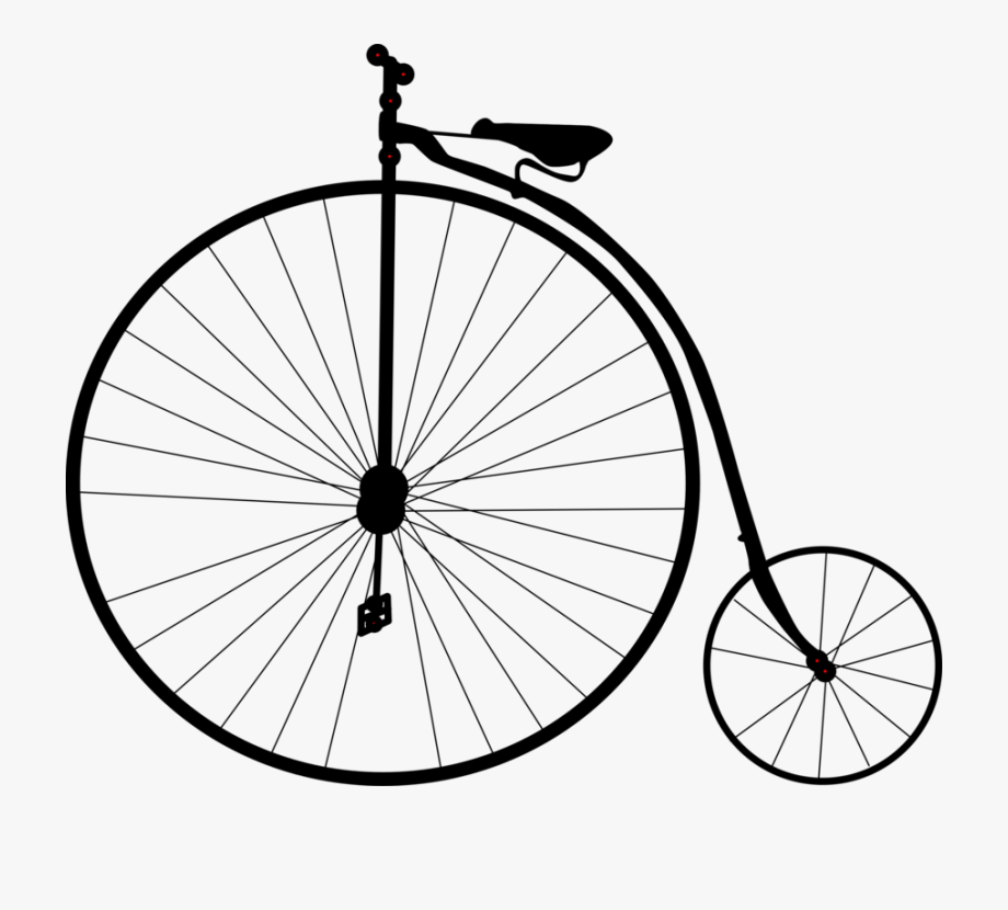 Bicycle clip art old. Biking clipart antique