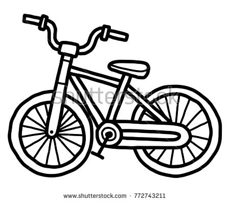Biking clipart black and white. Station