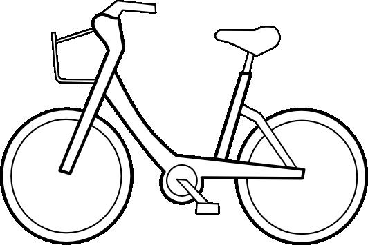 Bike panda free . Biking clipart black and white