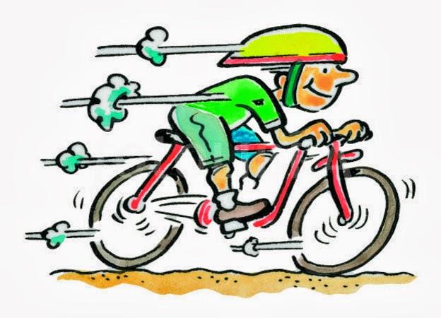 Biking clipart cartoon. Fast bikes