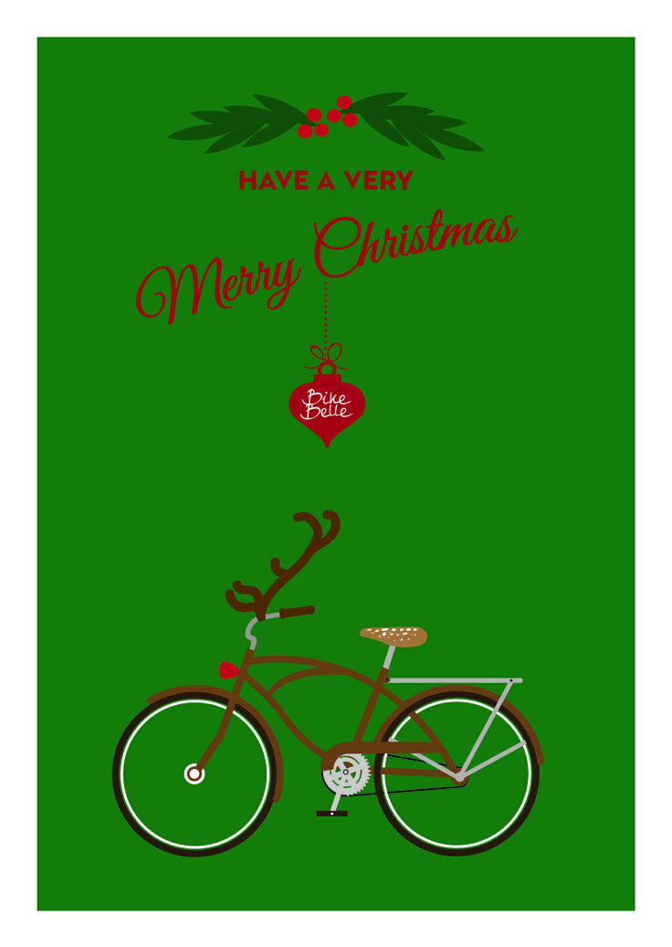 best bikes images. Biking clipart christmas