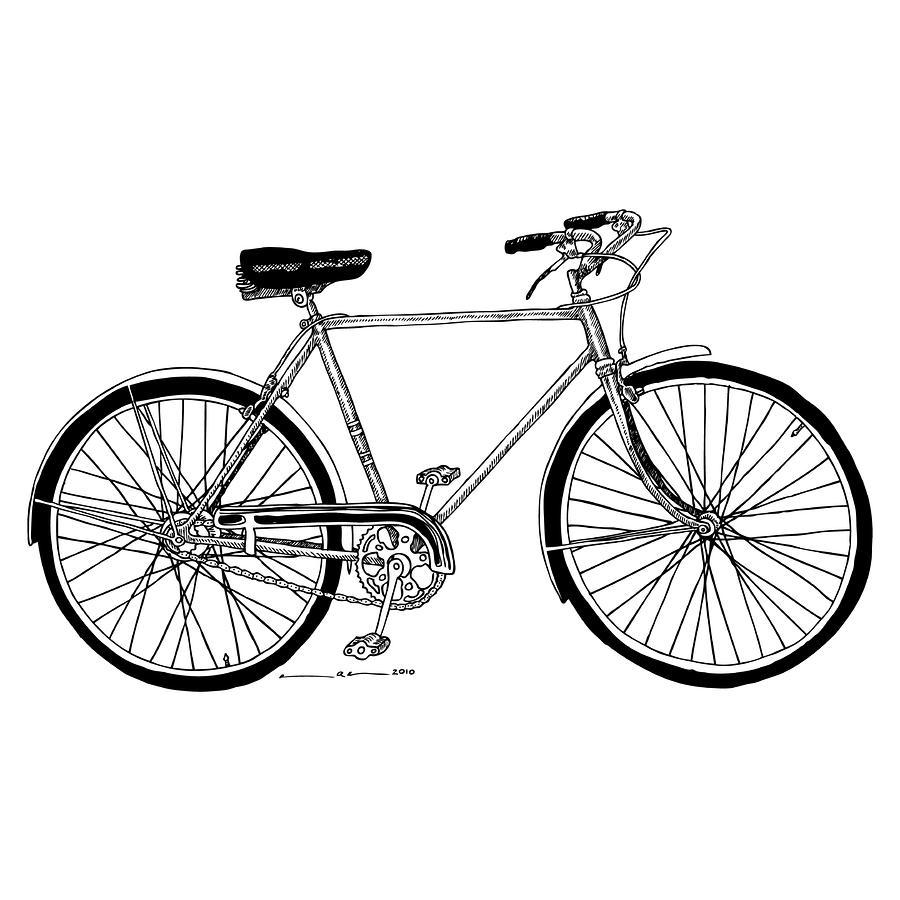 Biking clipart drawing. Bike photo skill