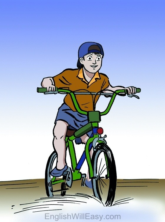 Biking clipart hobbies. Picture dictionary bike riding