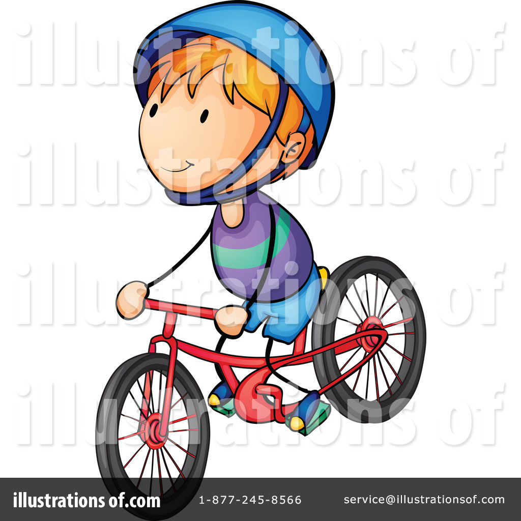 Bike by graphics rf. Biking clipart illustration