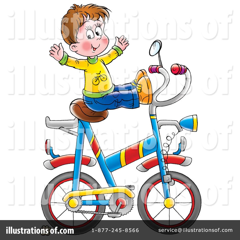 Biking clipart illustration. Bike by alex bannykh