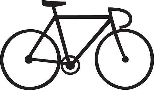 Cycle clipart bicycle drawing. Looking for line of
