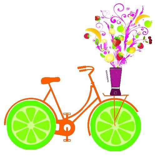 Biking clipart logo. Smoothie bike uvm bored