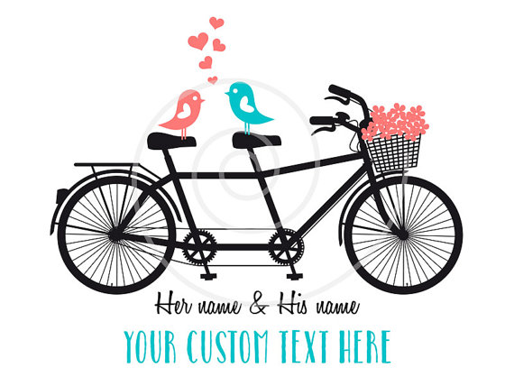 Biking clipart printable. Personalized valentine s day