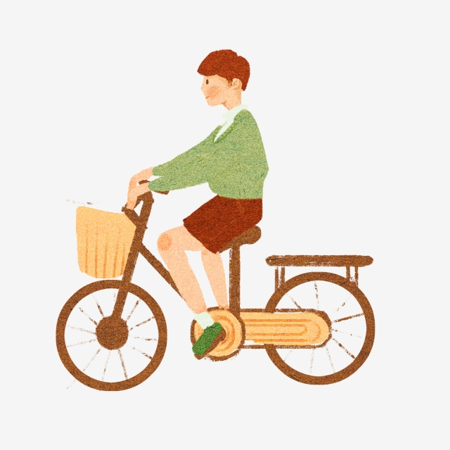 Bike clipart bycicle. Silhouette for kids