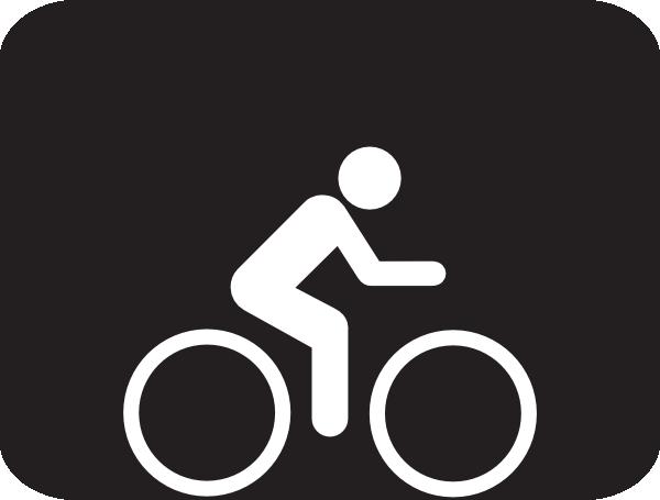 Bicycle clip art at. Biking clipart stick figure