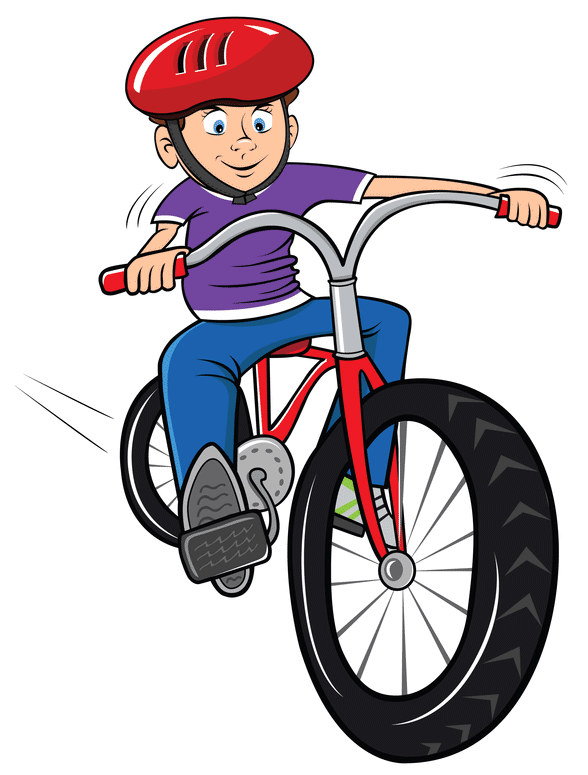 Seven springs time injuries. Biking clipart summer