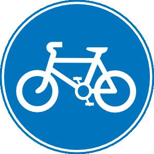 Biking clipart symbol. Ochlocknee bay bike trail