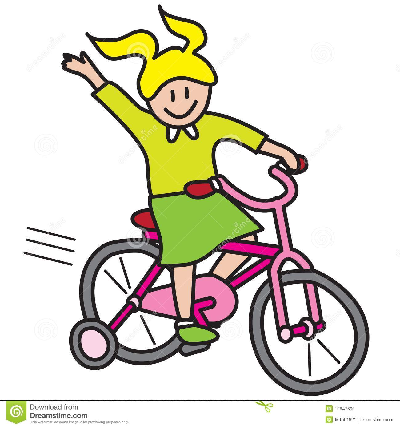 Cartoon cliparts free download. Biking clipart tricycle