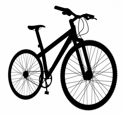 Biking clipart vector. Free bicycle download clip