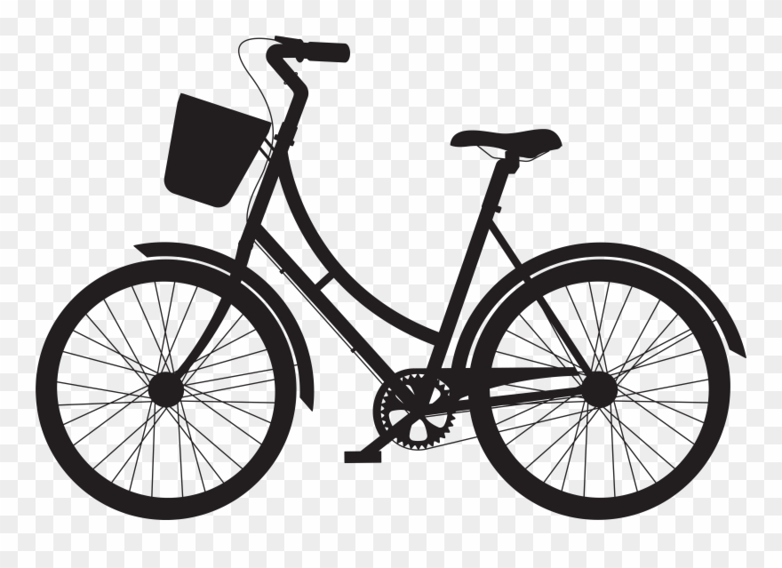 Picture free library bike. Biking clipart vector