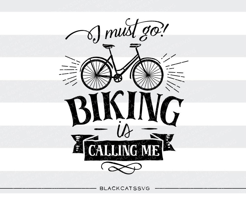 Biking clipart word. Is calling svg file