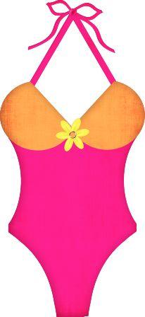 best deck decor. Bikini clipart cute