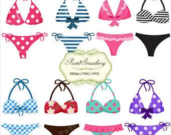 Bikini clipart cute. Beach set sandcastle summer