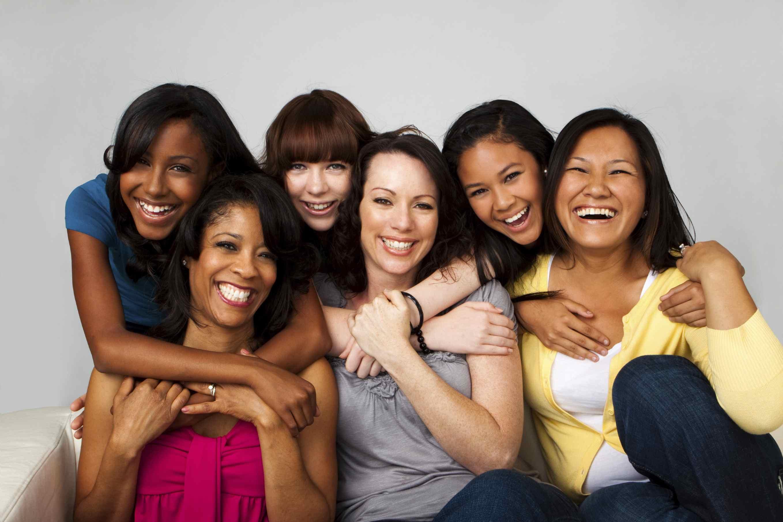 Bikini clipart diverse group woman. International women s day