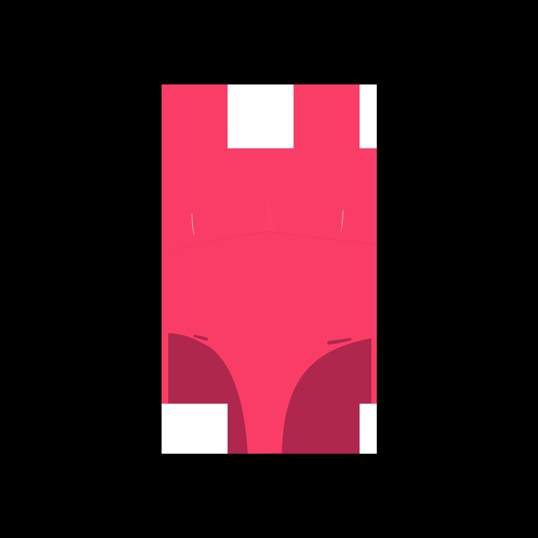 Neon top . Bikini clipart pink swimsuit