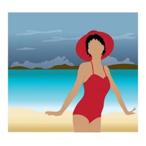 bikini clipart pretty woman