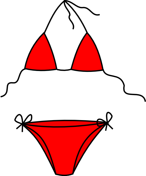 bikini clipart vector art