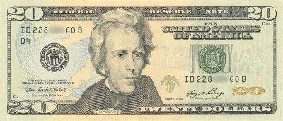 Bill 20 dollar