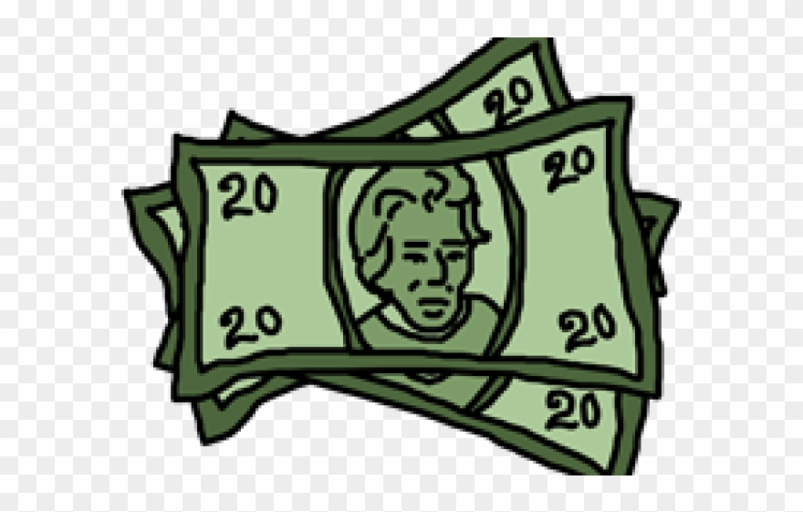 Bill clipart. Dollar png download