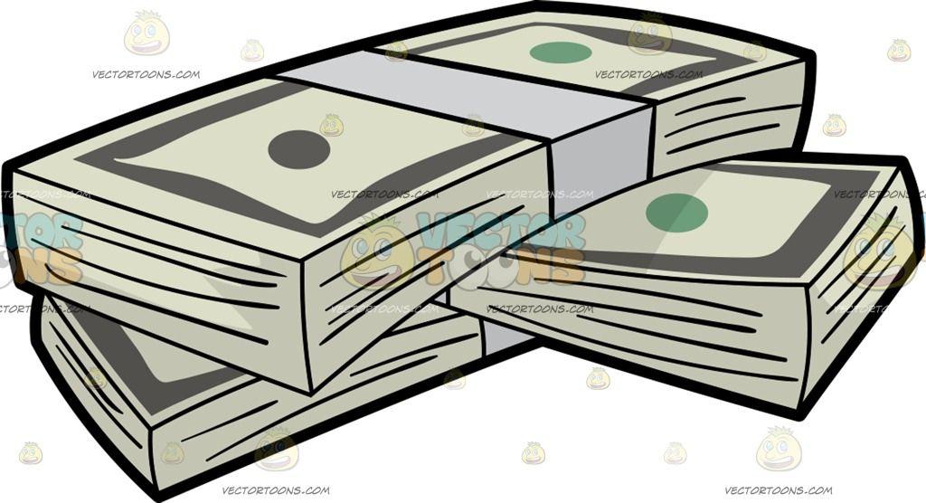Bill clipart animated. Bundles of us dollar