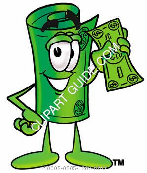 Bill clipart animated. Cartoon dollar station