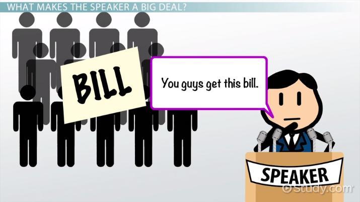 Bill clipart chief legislator. Speaker of the house