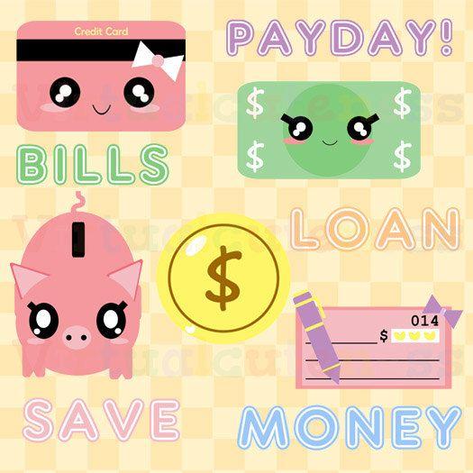Bank clipart cute. Money bills clip art