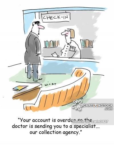 Bills clipart hospital bill. Doctors cartoons and comics