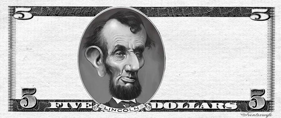 Bill by trentsxwife on. Bills clipart five dollar