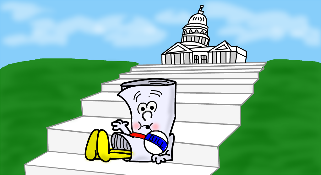 Sacramento is thinking big. Bill clipart gas bill