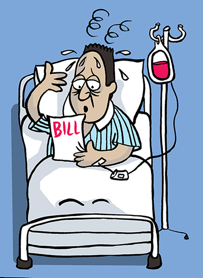 Bill clipart hospital bill. Why doctors dislike bengal