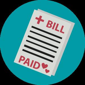Amazing charities that help. Bill clipart hospital bill