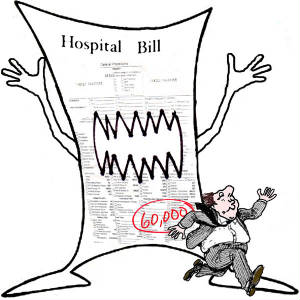words a week. Bill clipart hospital bill