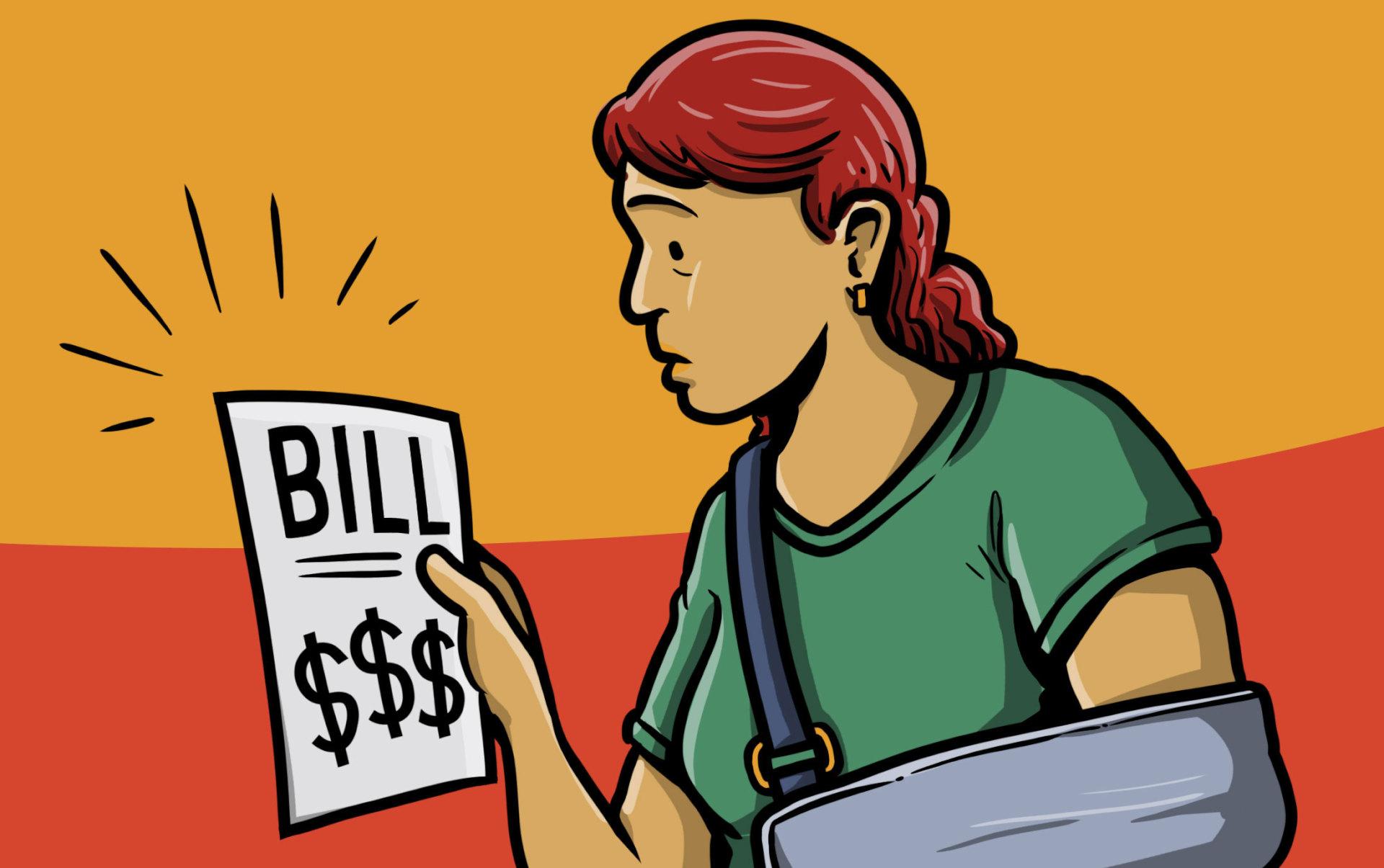 Update lawmakers pass measure. Bill clipart hospital bill