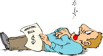 Bills clipart hospital bill. Negotiating medical debt consolidation