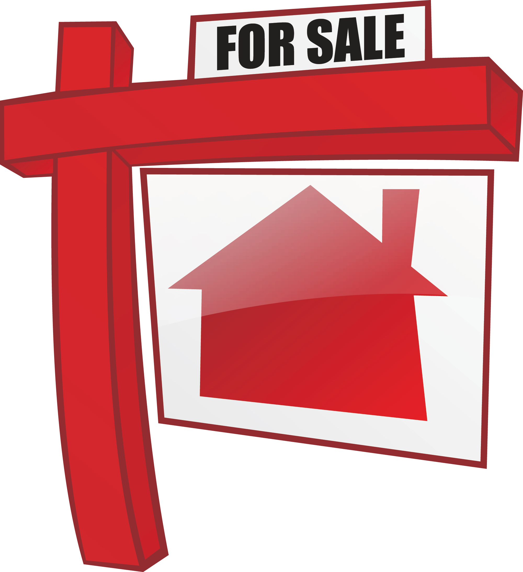 House for sale incep. Gate clipart new home