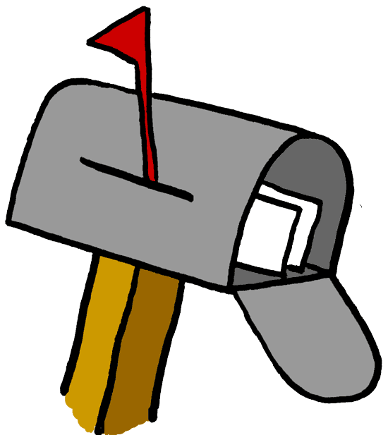 Mailbox us mail clipart clipart kid - Clipartix