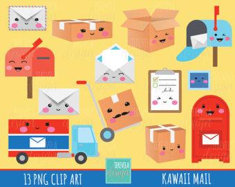 Happy mail etsy sale. Bills clipart mailbox