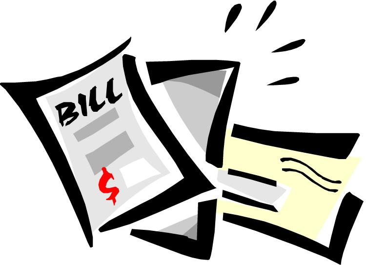 Medical. Bills clipart gas bill
