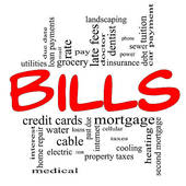 collection of high. Bills clipart monthly expense