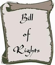 The bill of rights. Bills clipart right