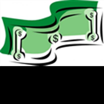 Stylized dollar bill money. Bills clipart transparent