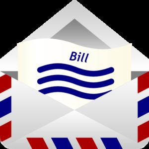 Bill clip art at. Bills clipart transparent