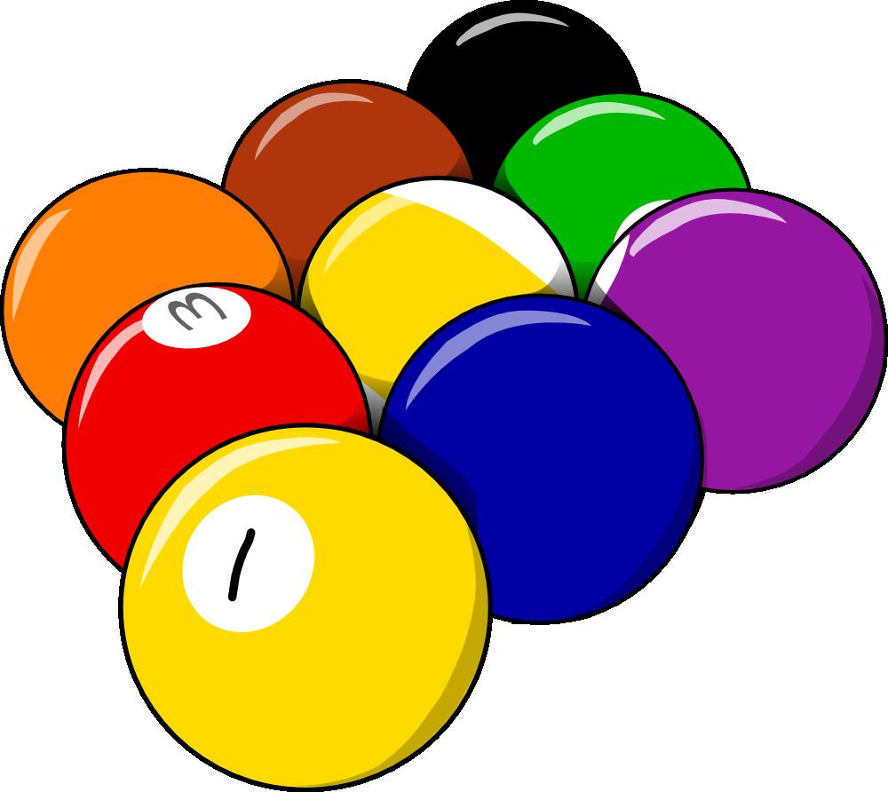 Clip art pool panda. Billiards clipart